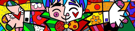 romero britto big hug romero britto wyecliffe original art
