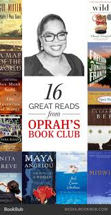 16 of our favorite picks from oprah s book club book clubs