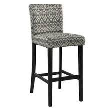 linon home decor products inc walt walnut gray bar stool linon morocco bar stool driftwood black 17 75w x 23d x 43 5h in