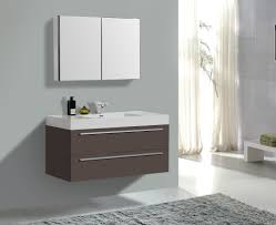 Bathroom Vanity Units Without Sink by Gray Wall Paint Mirror Without Frame Small Real Wood Vanity With
