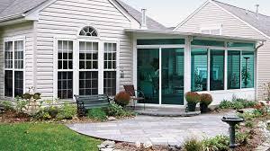 new patio enclosure materials interior design ideas creative under
