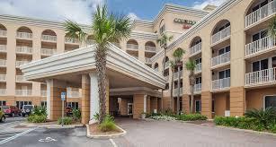 Comfort Inn Jacksonville Florida Jacksonville Beach Fl Hotel Courtyard Jacksonville Beach Oceanfront