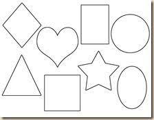 shapes worksheet heart