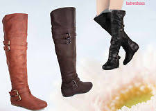 womens boots size 11 1 2 top moda flat 0 to 1 2 in heel knee boots for ebay