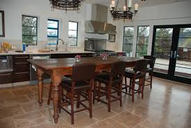 Table For Banquette Kitchen Island Awesome Island Table For Kitchen With Wooden