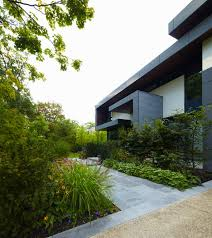 awarded contemporary home with beautiful garden in toronto canada