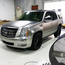 2016 apa matte dark chrome escalade custom paint and 22
