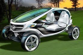 mercedes benz designs its dream golf cart