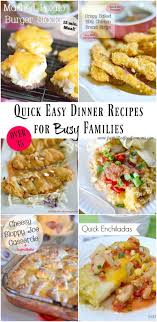 easy dinner recipes for the family faith filled food for