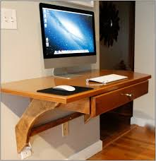 mini computer desk furniture narrow wall mounted computer desk with single drawer