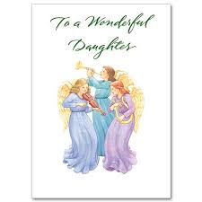 to a wonderful daughter christmas card