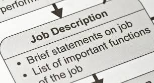 creating best practice job description templates halogen