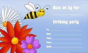 Kids Birthday Party Invitation Card 14 Printable Birthday Invitations Many Fun Themes 1st Birthday