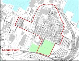 Baltimore City Map Locust Point Historical And Architectural Preservation