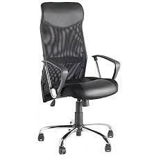 chaise bureau moderne fauteuil de bureau moderne en tissu strillé noir