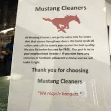 mustang cleaners mustang cleaners laundry services 3105 ira e woods ave