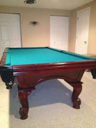 Used Billiard Tables by Kasson Billiards Ball U0026 Claw Pool Table For Sale Sold Sold Used
