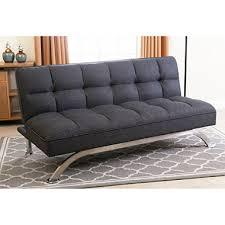 belize gray click clack futon sofa bed sam u0027s club