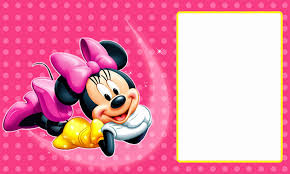 free printable minnie mouse invitation templates part 1