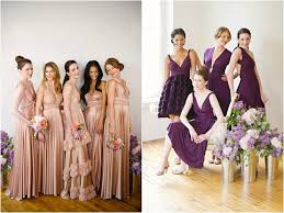 bridesmaid fashion allan house
