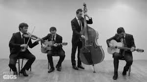 orchestre jazz mariage orchestre jazz manouche quartet mariage cocktail anniversaire