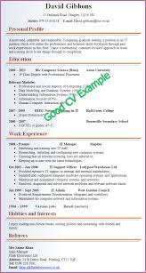 6 good example of resume basic job appication letter