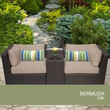Tacana Patio Furniture by 48 Wicker Patio Set All Weather Wicker Patio Dining Sets Patios