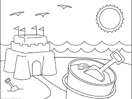 download summer coloring pages for kids