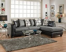 delta sofa and loveseat charcoal black chenille sectional by delta furniture for the