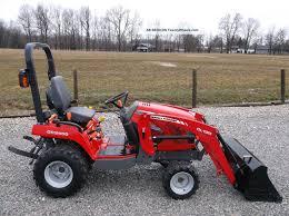 2012 massey ferguson gc 2400 compact tractor u0026 front loader 4x4