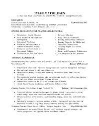 sle resume for teachers student teaching resume edit