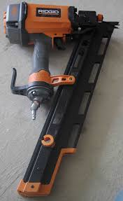 Paslode Roofing Nailer by Ridgid Framing Nailer R350rhd A Concord Carpenter