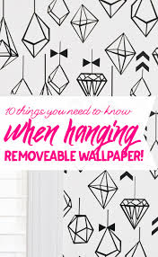 Pink Removable Wallpaper by 10 Tips For Hanging Removeable Wallpaper