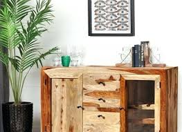 Solid Wood Buffet Table Wine Rack Sideboard Buffet With Wine Rack Sideboard Buffet Table
