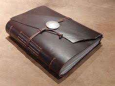 Leather Bound Photo Album Handmade Brown Leather Bound Journal Travel Diary Sketchbook