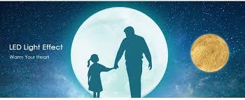 Moon Light For Bedroom by G13 3d Led Magical Moon Pendant Light 13cm 23 49 Online Shopping