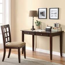 coaster fine furniture writing desk coaster fine furniture brown writing desk and chair set 800780