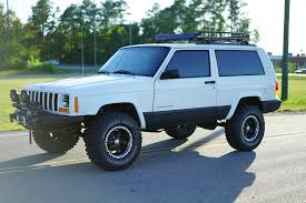 jeep cherokee sport white davis autosports jeep cherokee sport xj lifted for sale youtube