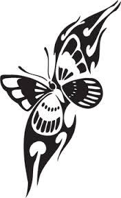 butterfly tribal butterfly tattoo butterfly
