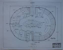 architectural plans the futuro house the charles cleworth archive drawings