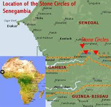 africa map gambia circles of senegambia senegal and gambia world