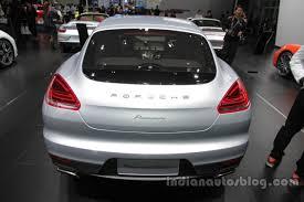 Porsche Panamera Edition - porsche panamera edition rear at auto china 2016 indian autos blog