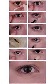 how to hide under eye dark circles
