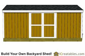 8x18 shed plans storage shed plans icreatables com