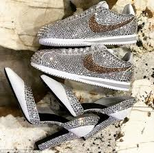 wedding shoes reddit serena williams shows bedazzled wedding day trainers daily