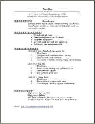 resume exles housekeeping resume exles housekeeping housekeeping resume exles for