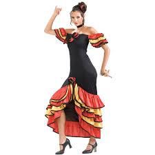 women u0027s flamenco dancer costume spanish spanish costume and