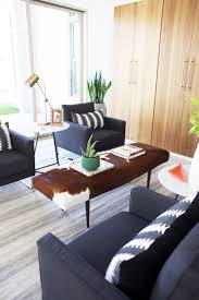 coffee table ikea hack cowhide ottoman kristi murphy do it