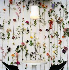 fake flowers for home decor ask mr kate filling big empty walls empty wall flower