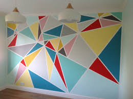 Washi Tape Wall Designs by Frog Tape Craft Room Wall For The Home Pinterest Frogs